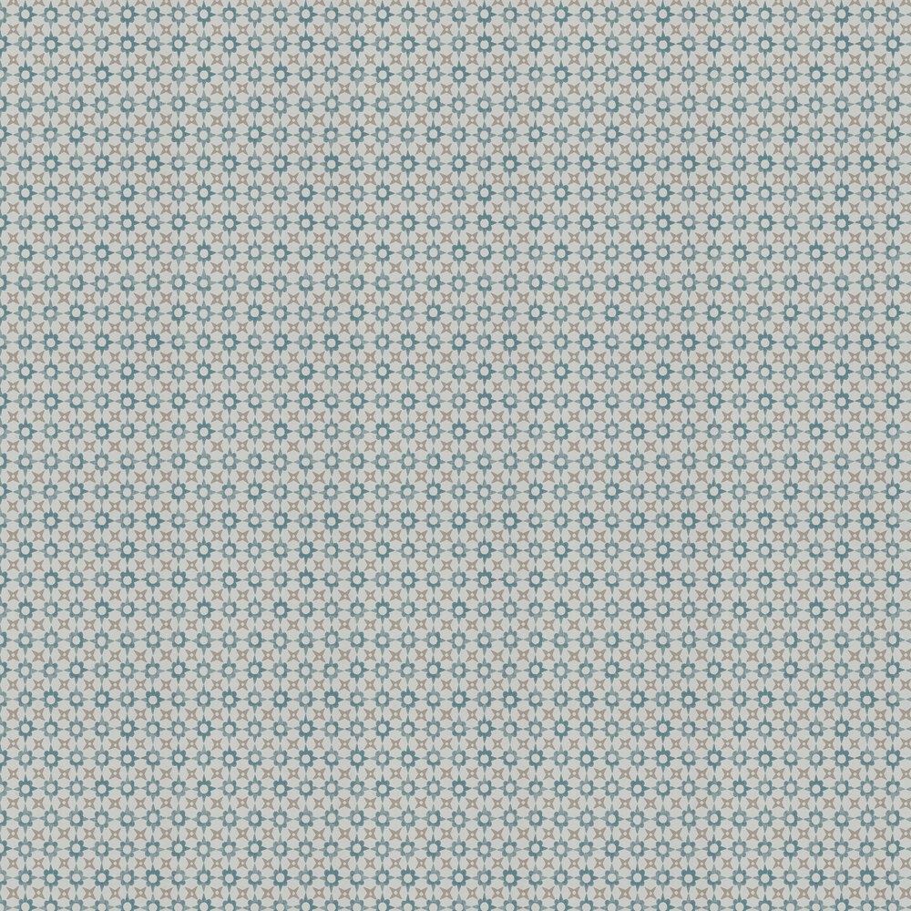 Tassi Wallpaper - Soft Blue - by Jane Churchill