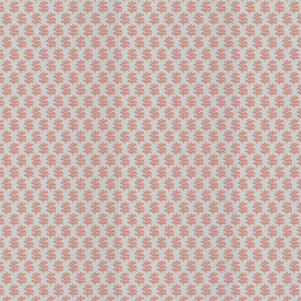Rowan Wallpaper - Soft Red - by Jane Churchill