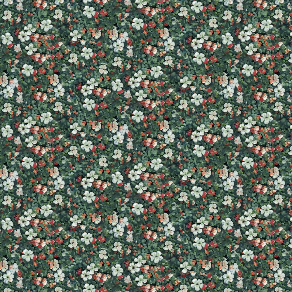 Floral Tapestry Wallpaper - Mint - by Coordonne