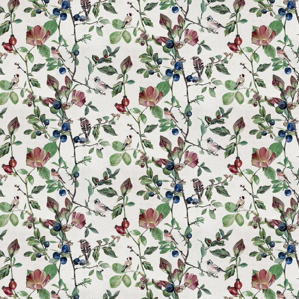 Goldfinch Song Wallpaper - Cotton - by Coordonne