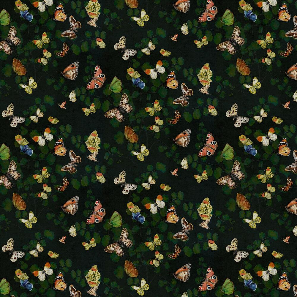 Magic Butterflies Wallpaper - Night - by Coordonne