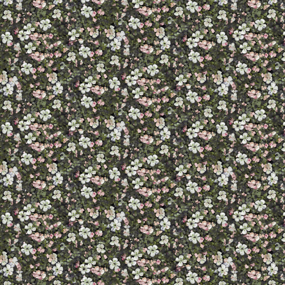 Floral Tapestry Wallpaper - Pink - by Coordonne