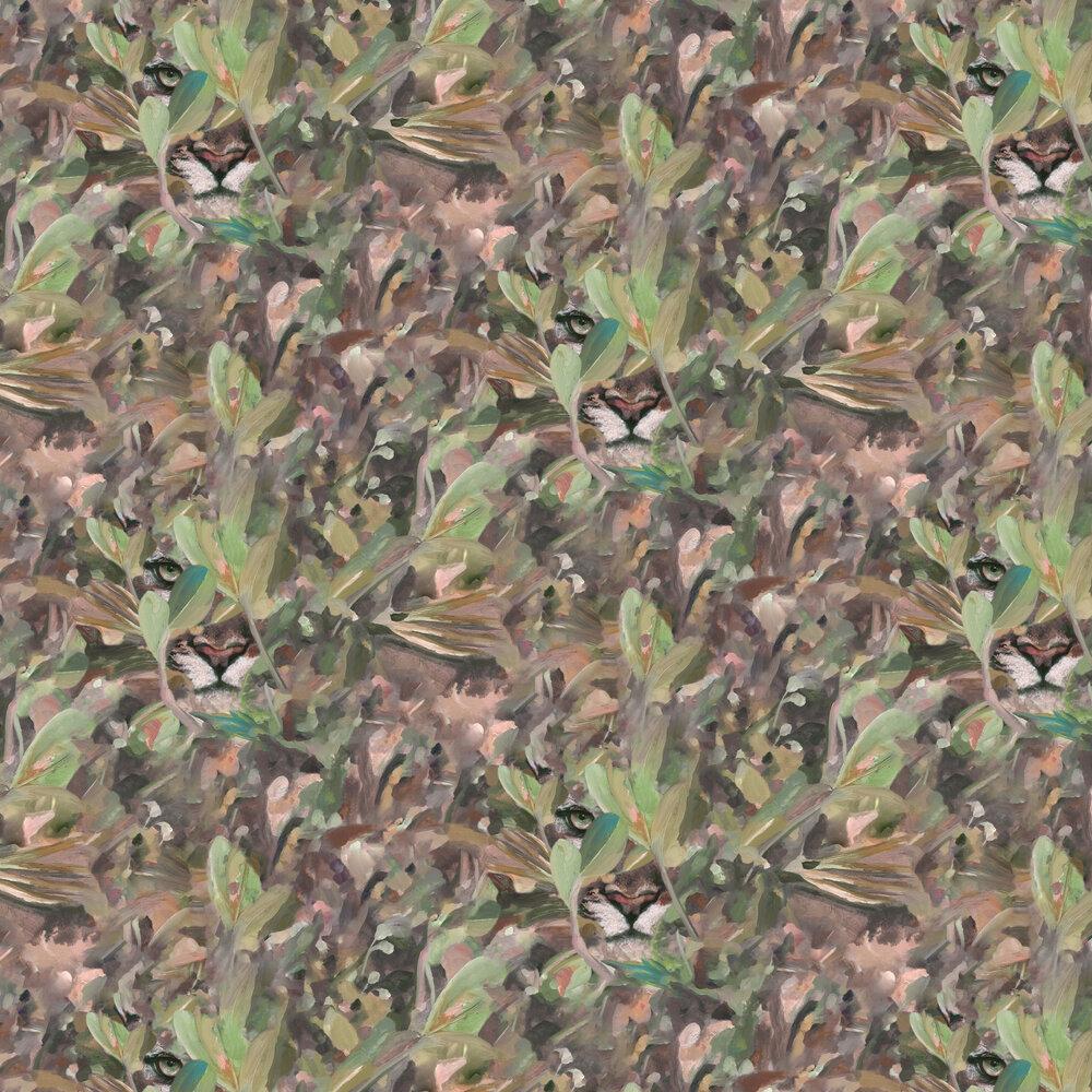 Hidden Puma Wallpaper - Autumn - by Coordonne