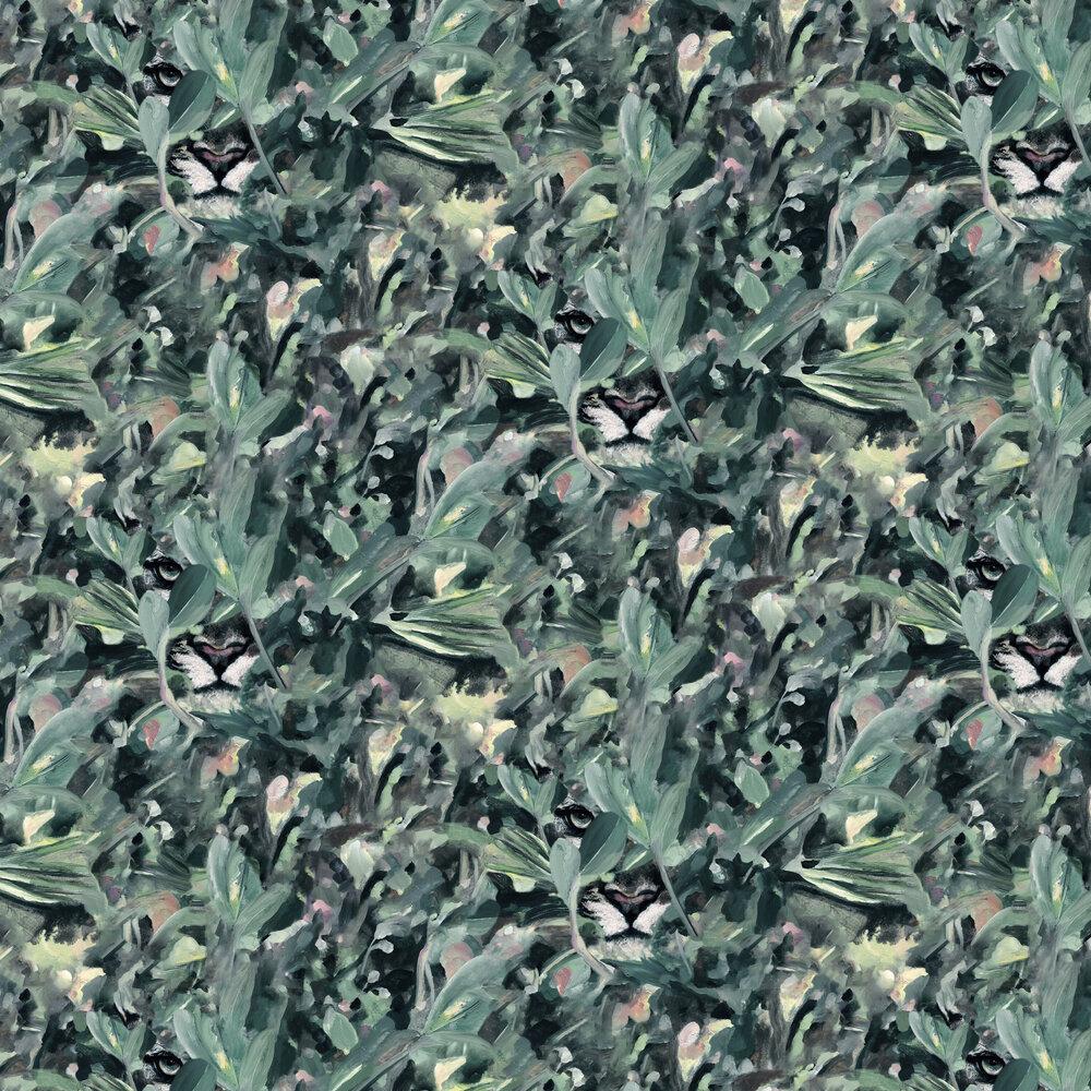 Hidden Puma Wallpaper - Winter - by Coordonne