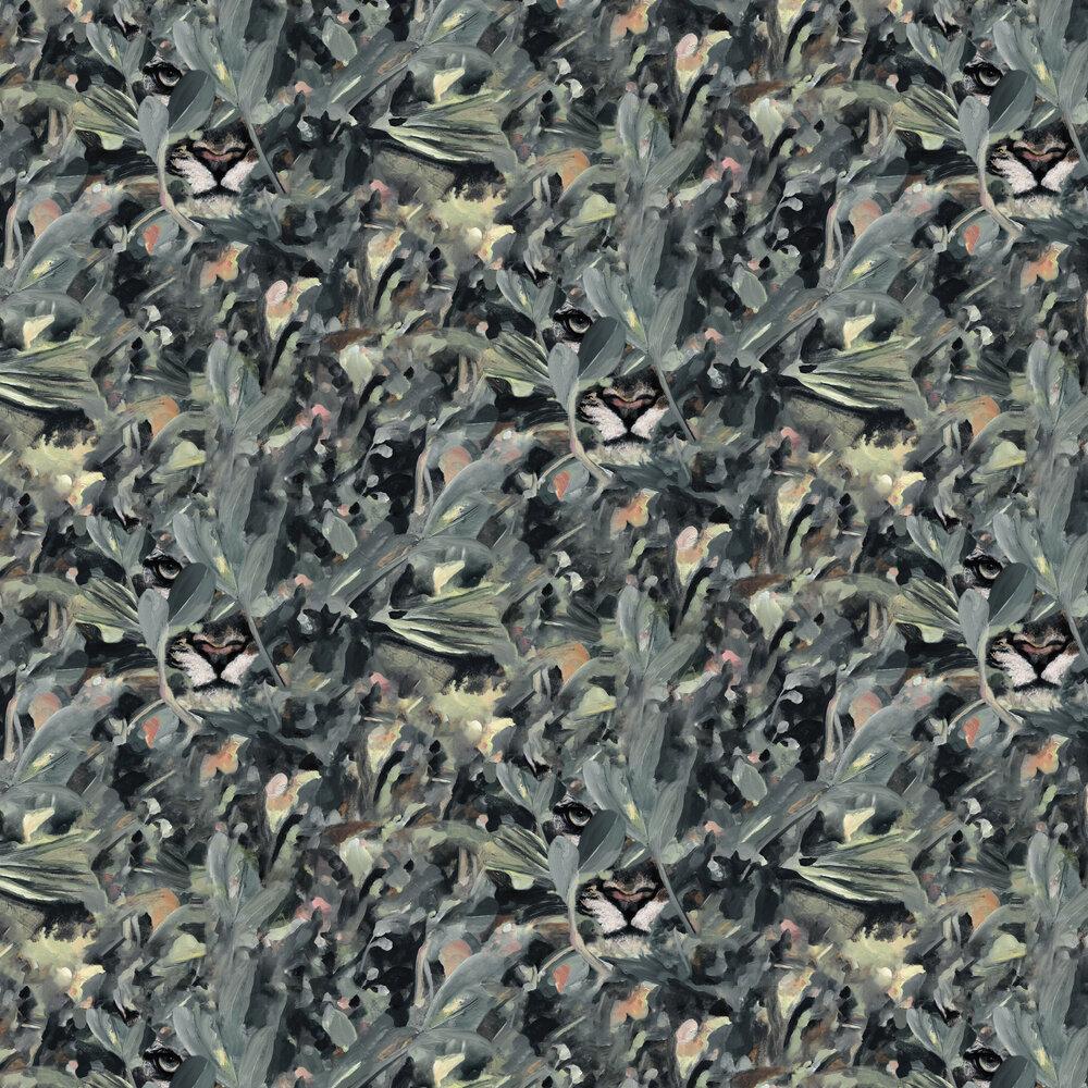 Hidden Puma Wallpaper - Night - by Coordonne