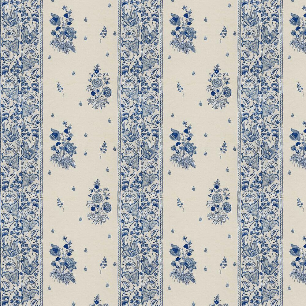 Korond Floral Wallpaper - Indigo - by Mind the Gap