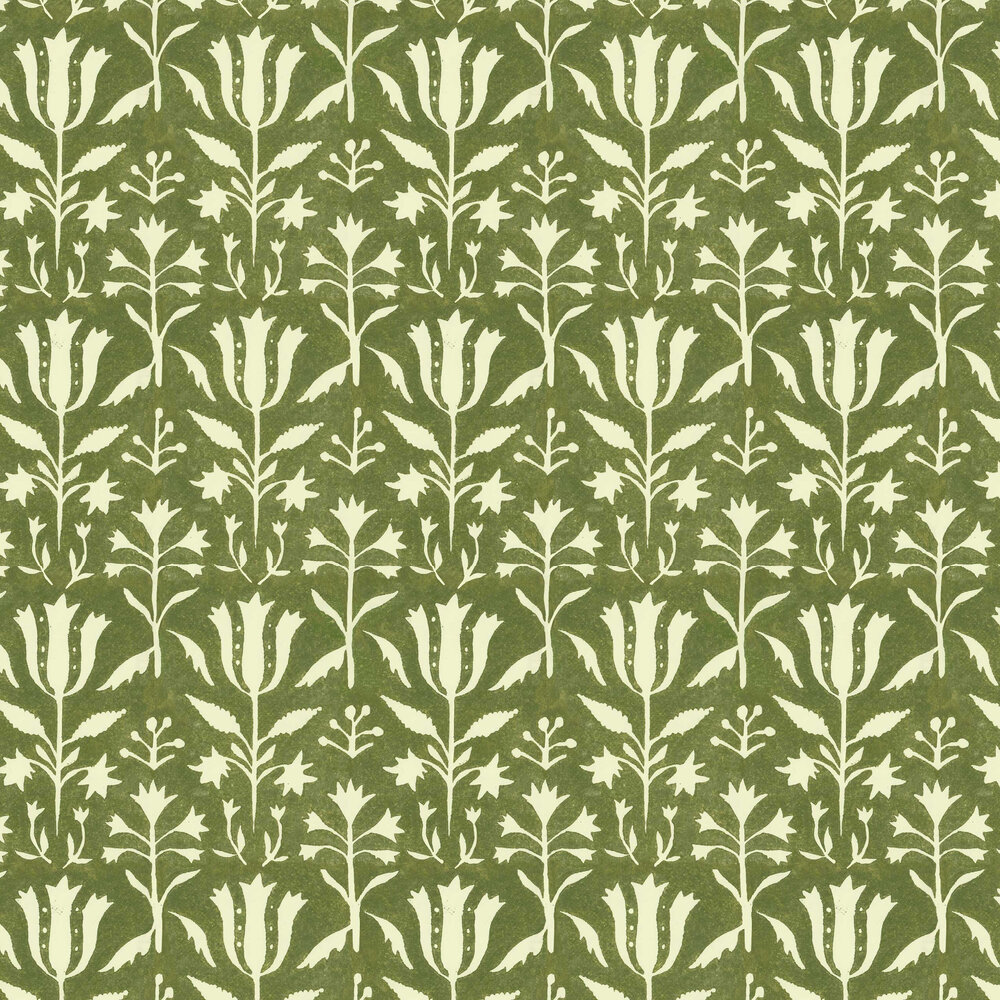 Tulipan Wallpaper - Herbal - by Mind the Gap
