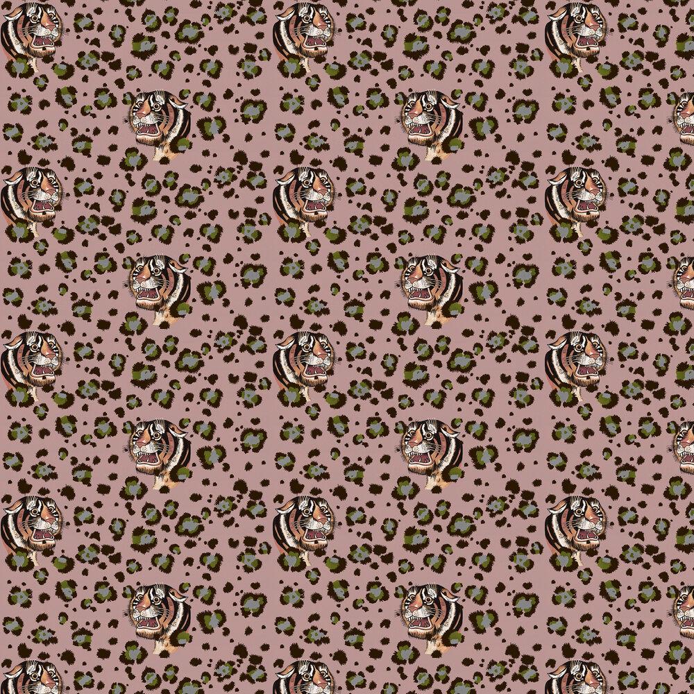 Bubastis Wallpaper - Blush - by Wear The Walls
