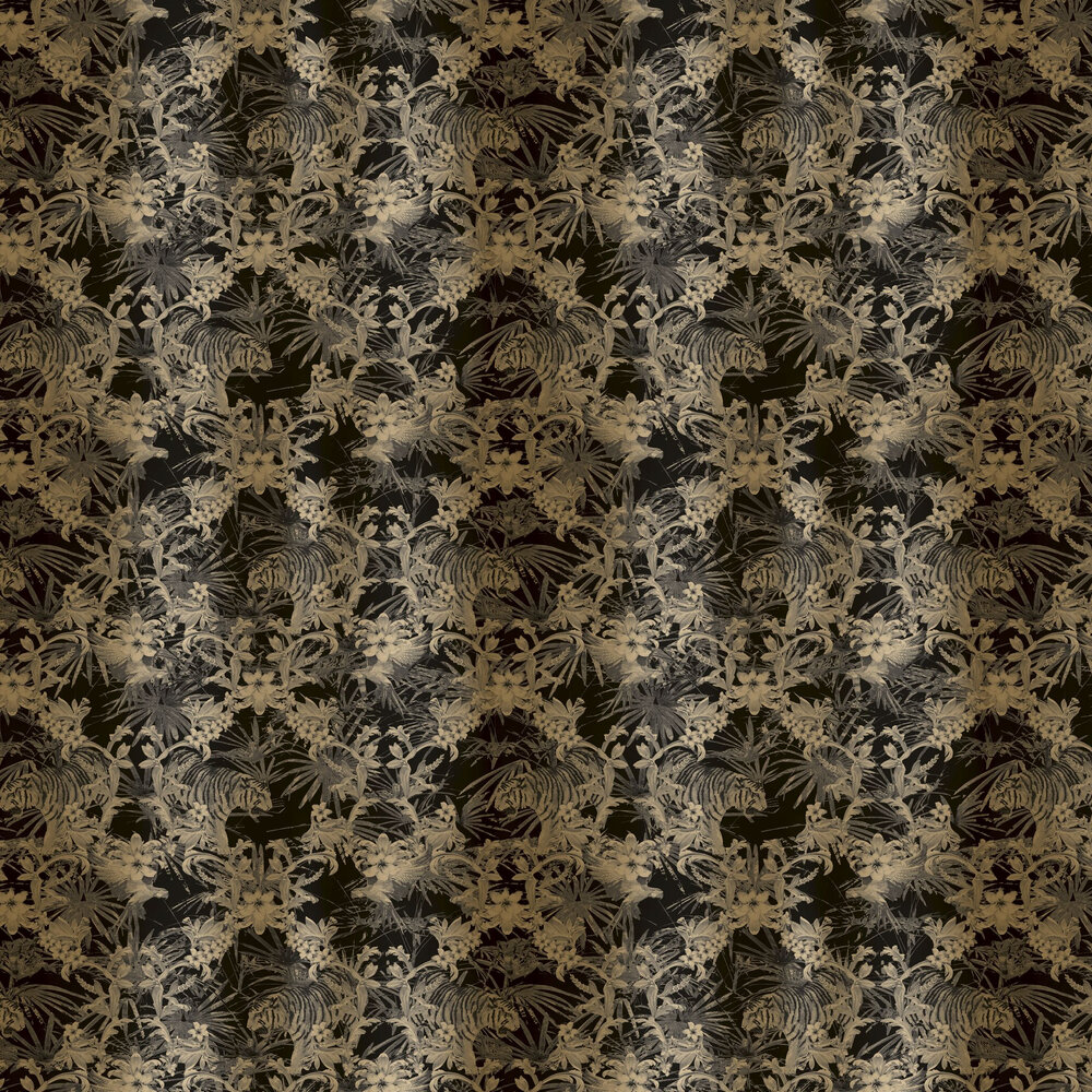 Kingdom Wallpaper - Gold - by Ted Baker