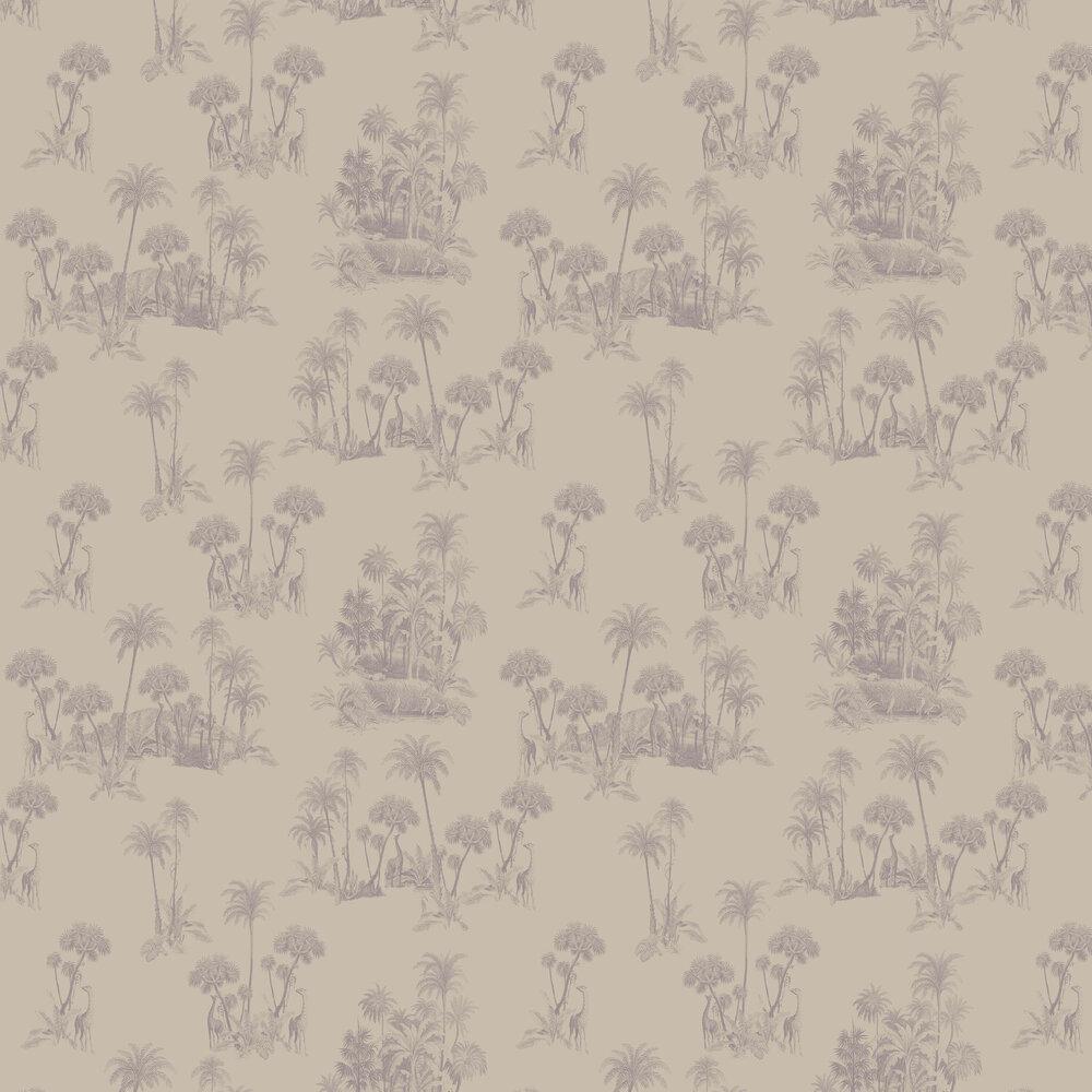 Laurel Wallpaper - Nude - by Ted Baker