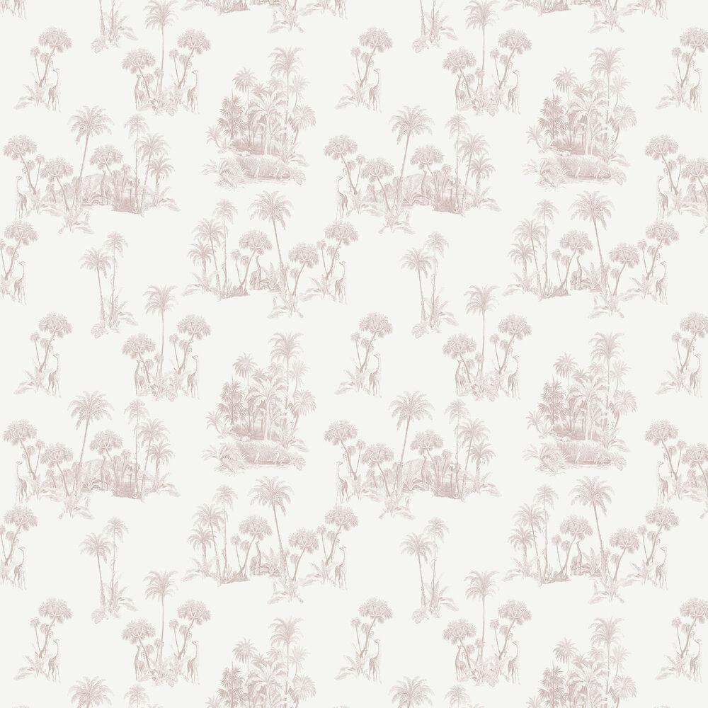 Laurel Wallpaper - Cream - by Ted Baker
