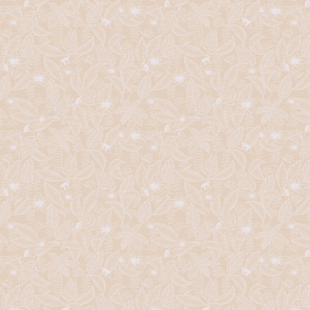 Monflo Wallpaper - Blush - by Ted Baker