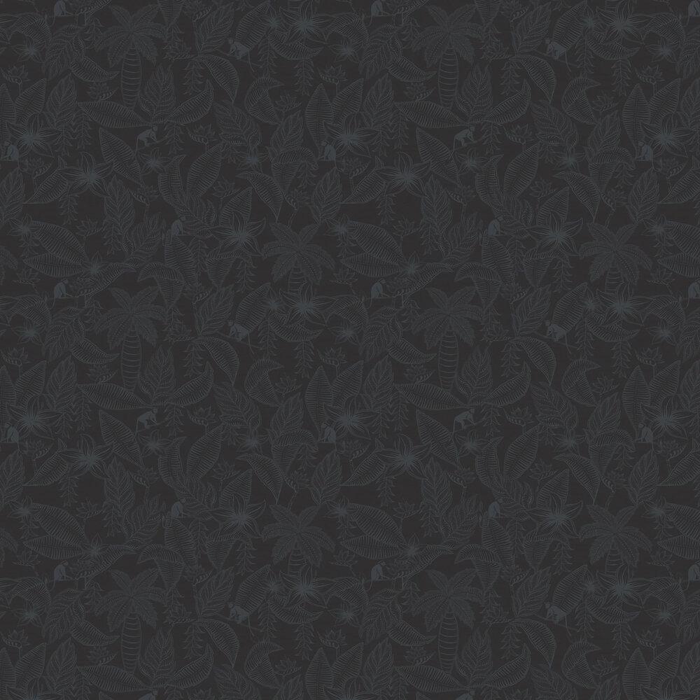 Monflo Wallpaper - Black - by Ted Baker