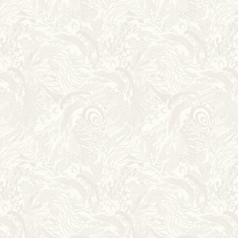 Eastern Tide Wallpaper - Cream - by Ted Baker