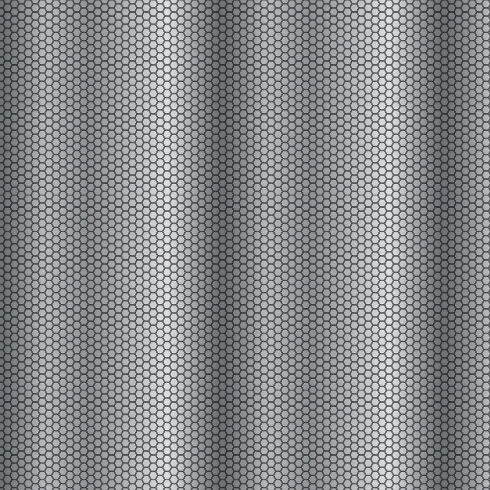 Hexie Wallpaper - Silver - by Ted Baker