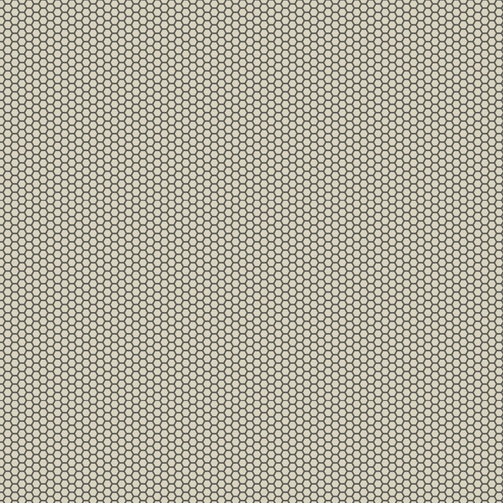 Hexie Wallpaper - Sand - by Ted Baker
