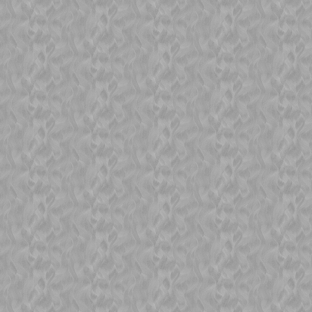 Wave Pattern Wallpaper - Silver - by Galerie