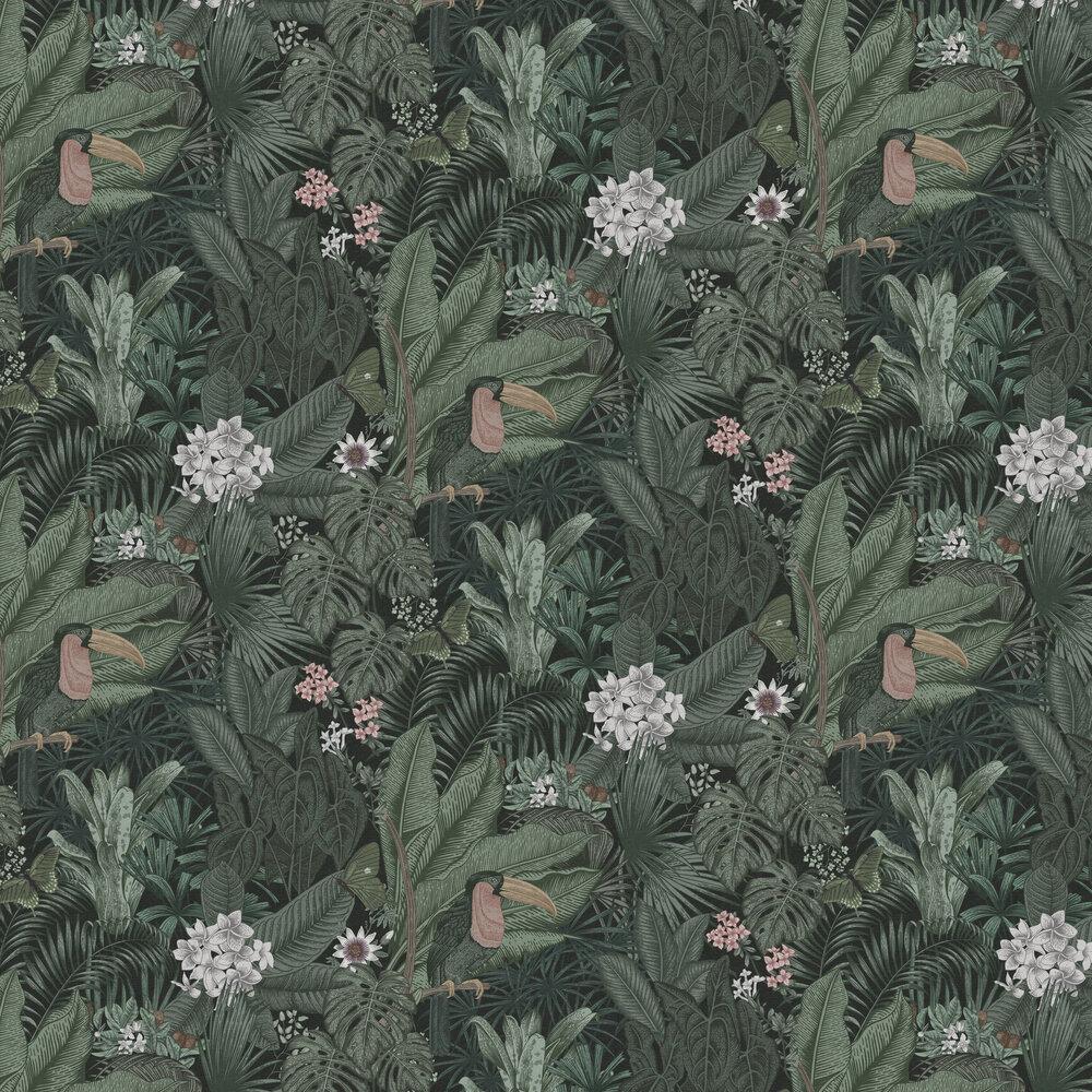 Furada Wallpaper - Sage - by Rebel Walls