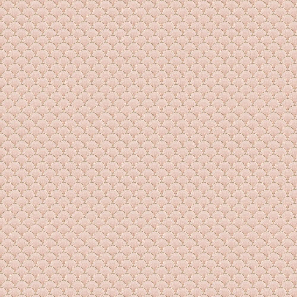 Marmaris  Wallpaper - Coral - by Rebel Walls