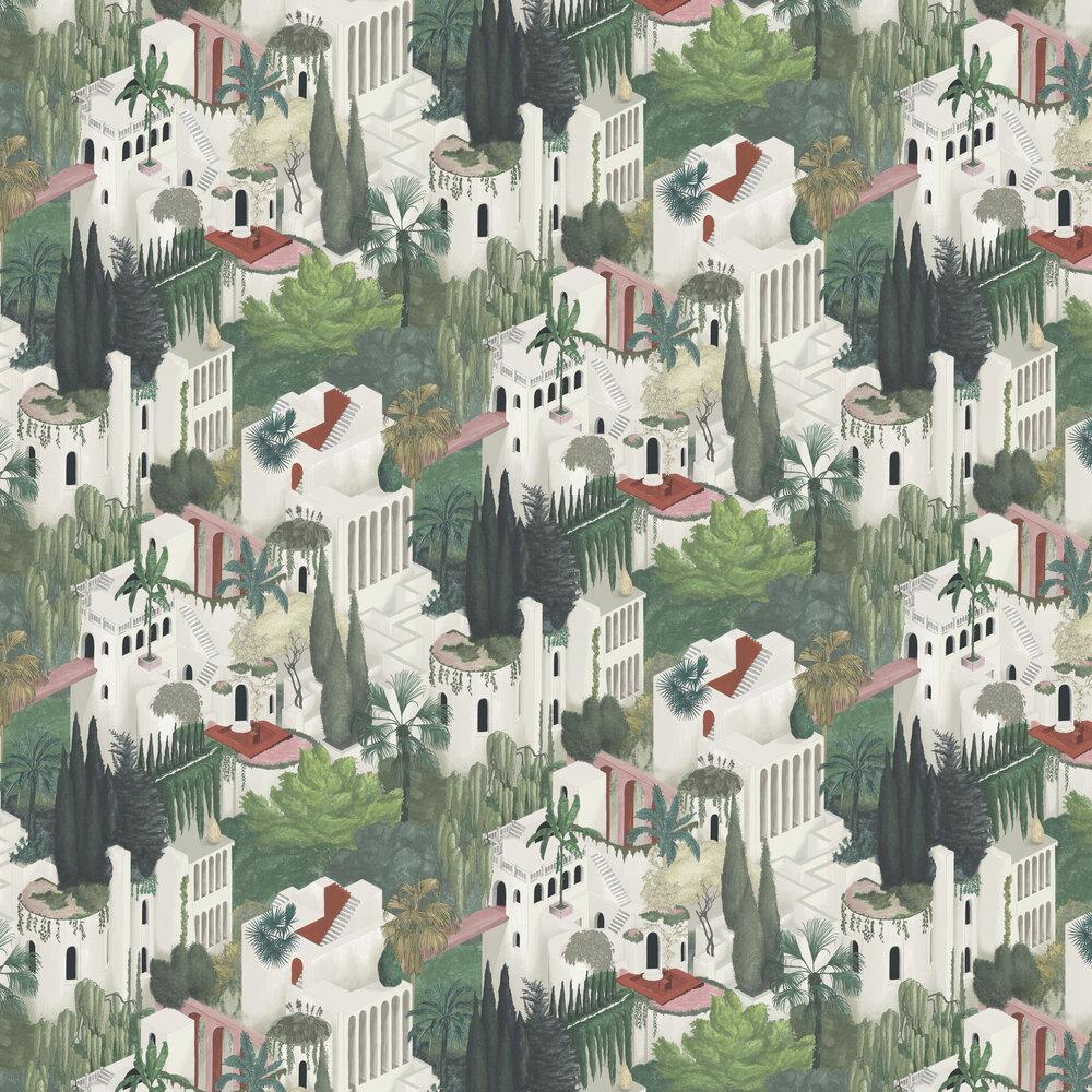 Toledo Wallpaper - Pearl - by Rebel Walls