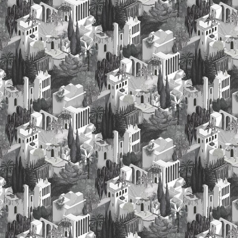 Toledo Wallpaper - Graphite - by Rebel Walls