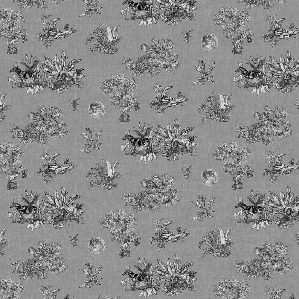 Cork Wallpaper - Graphite - by Rebel Walls