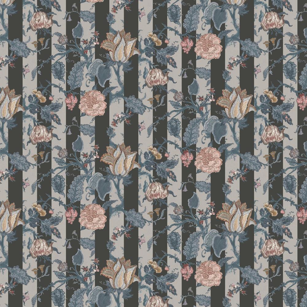 Soho Wallpaper - Slate - by Rebel Walls