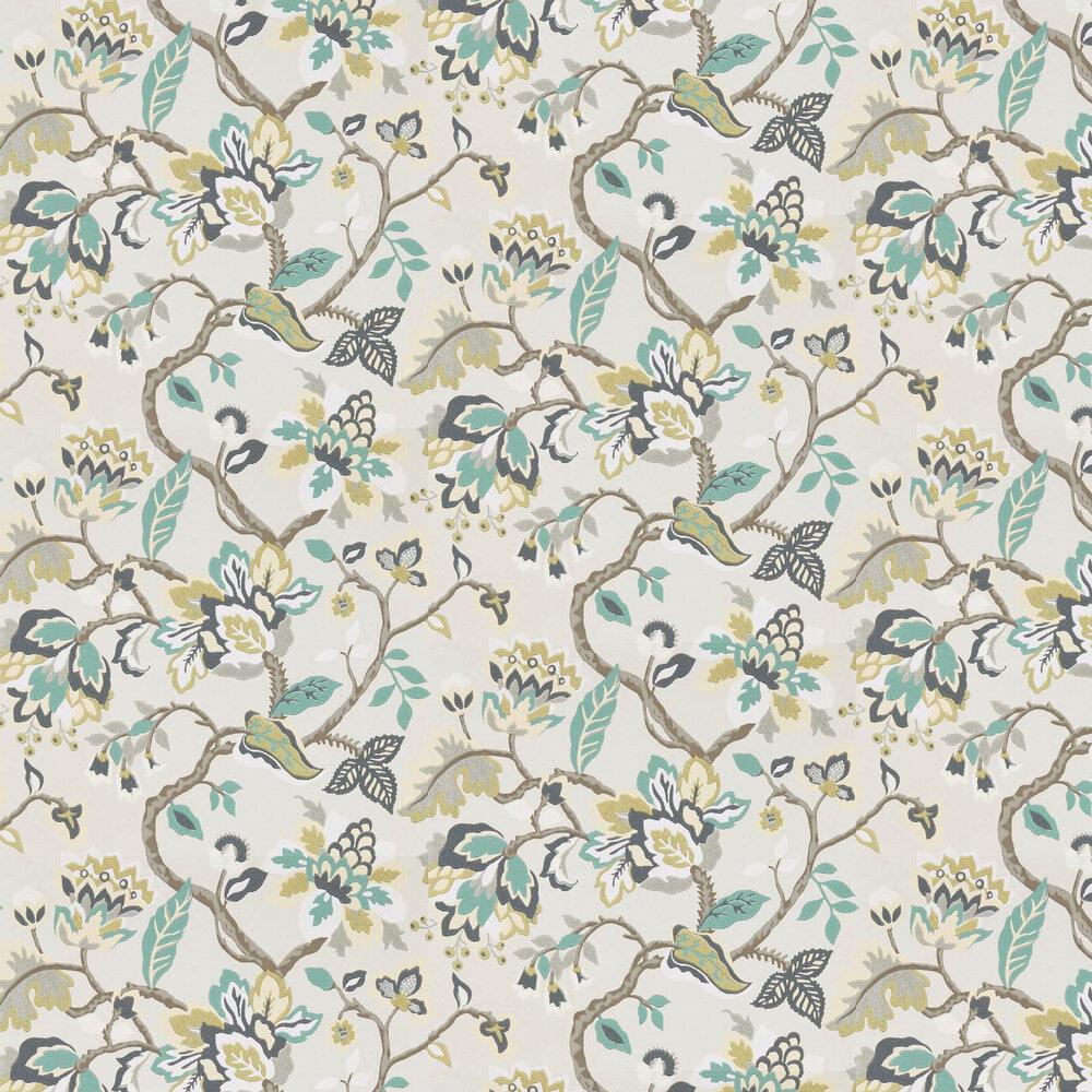 Amanpuri Wallpaper - Grey Mist - by Sanderson