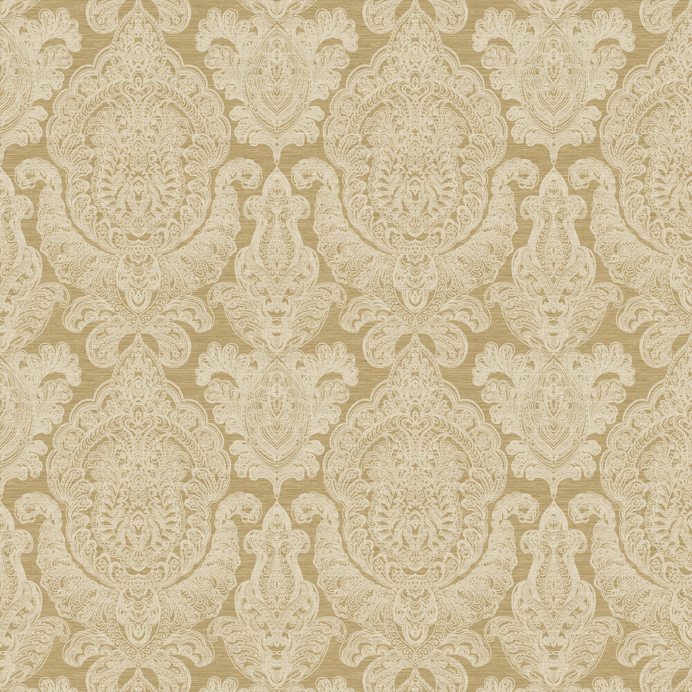 Raffles Wallpaper - Gold - by SketchTwenty 3