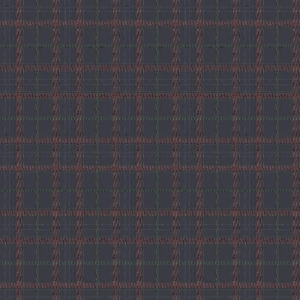 Check Wallpaper - Cobalt - by Coordonne