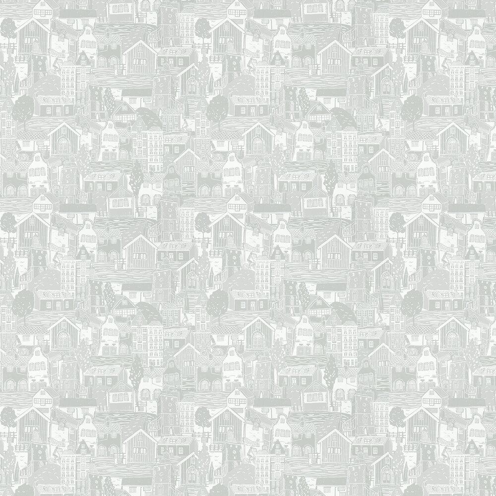 Stockholm Wallpaper - Dove - by Scion
