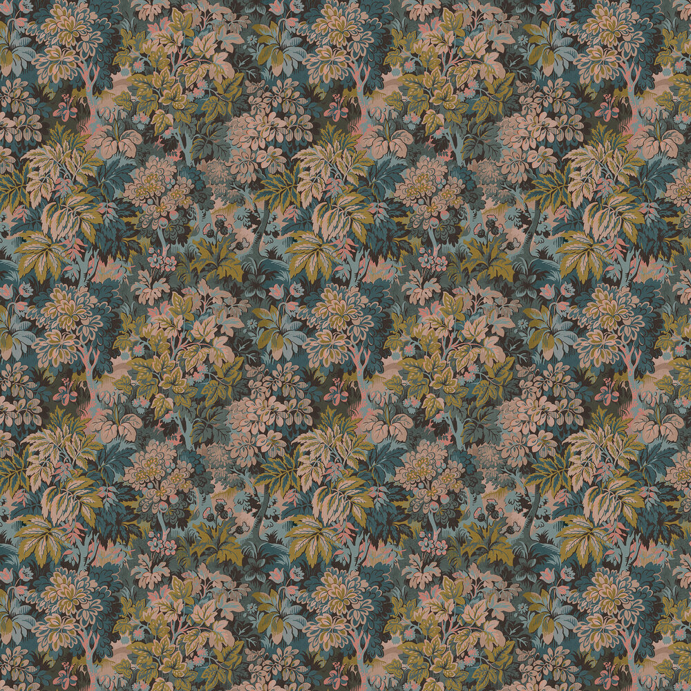 Wildwood Wallpaper - Blush - by Sidney Paul & Co