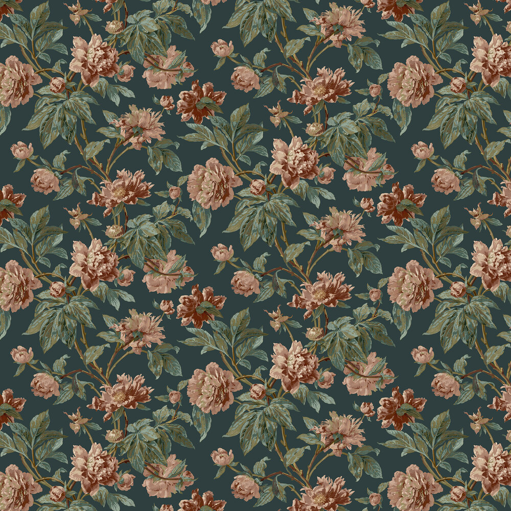 Helmsley Wallpaper - Azure - by Sidney Paul & Co