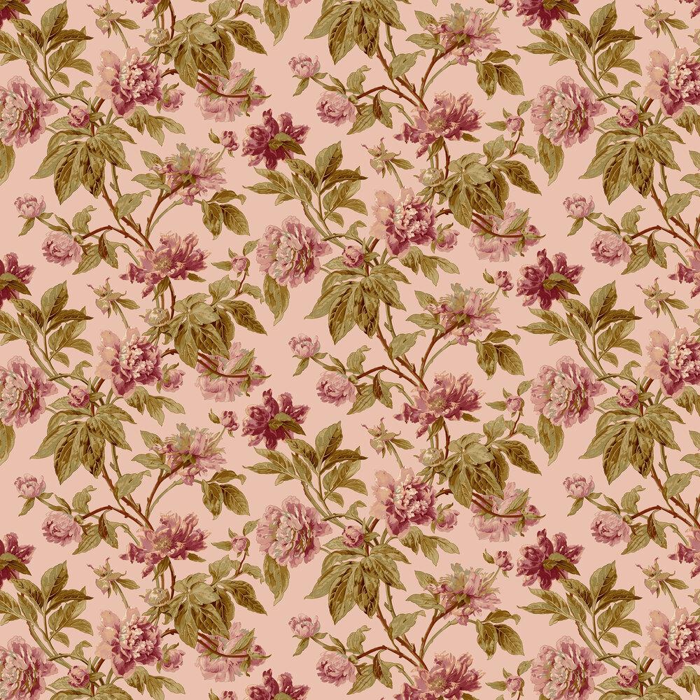 Helmsley Wallpaper - Blush - by Sidney Paul & Co