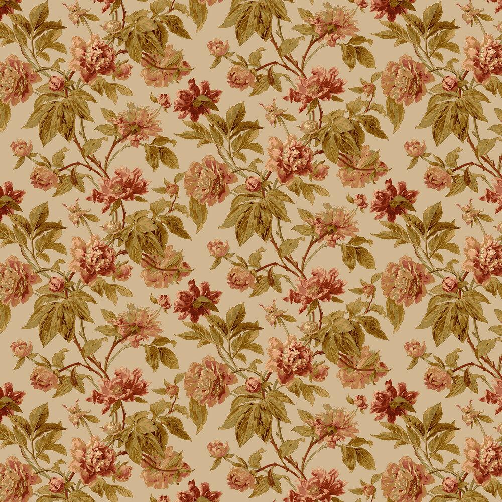 Helmsley Wallpaper - Olive - by Sidney Paul & Co