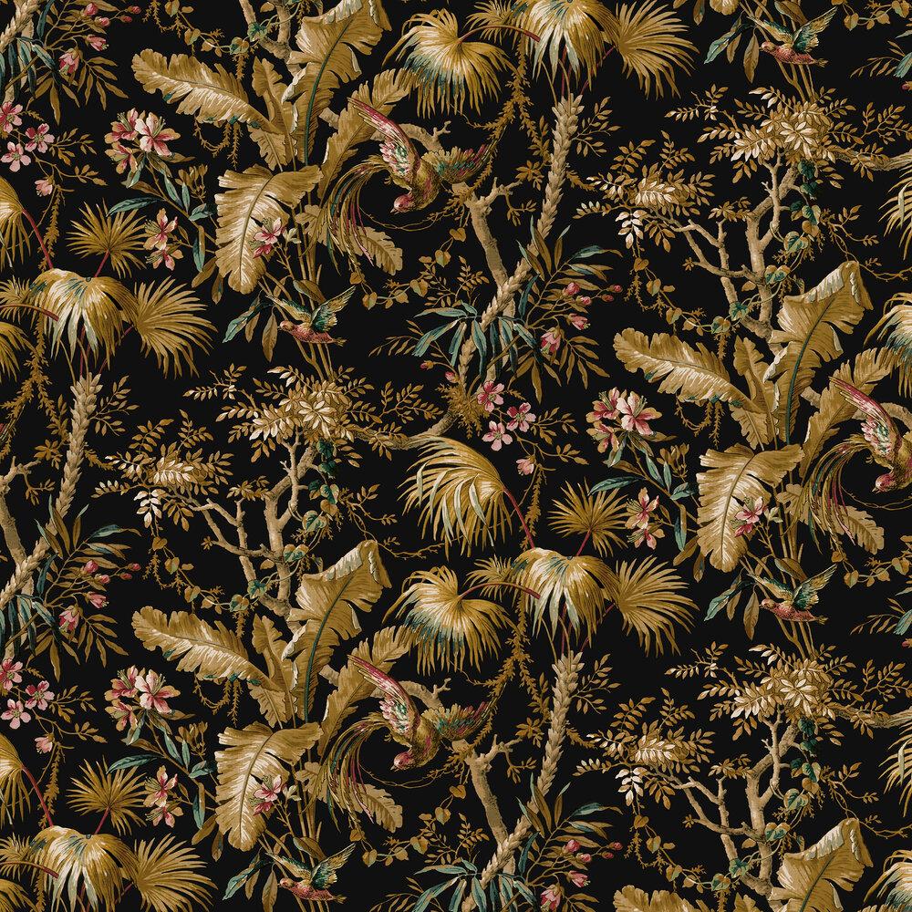 The Lost Gardens Wallpaper - Noir - by Sidney Paul & Co