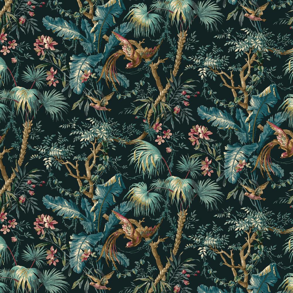The Lost Gardens Wallpaper - Azure - by Sidney Paul & Co