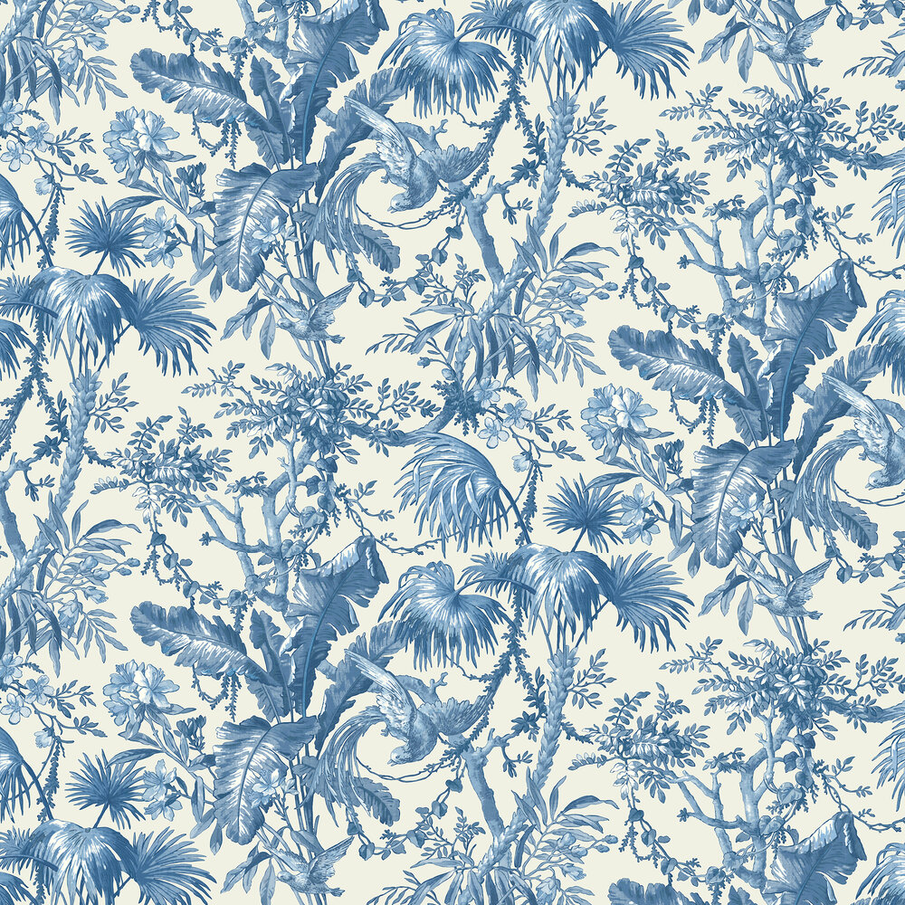 The Lost Gardens Wallpaper - Delft - by Sidney Paul & Co