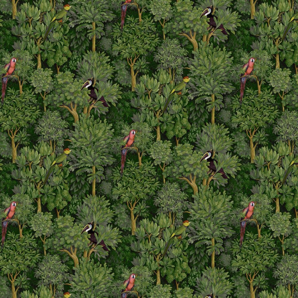 Botanist Wallpaper - Green - by Albany