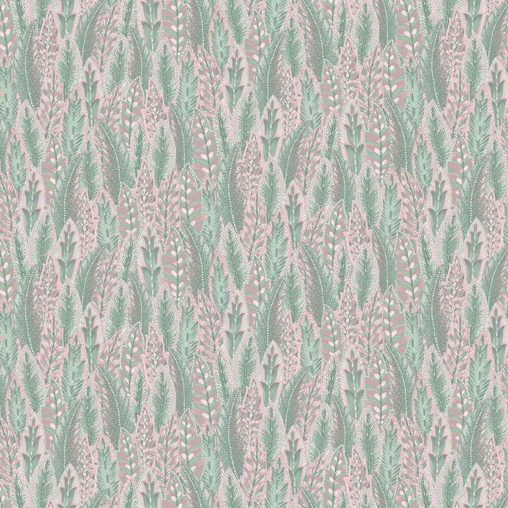 Amherst Wallpaper - Pink - by Albany