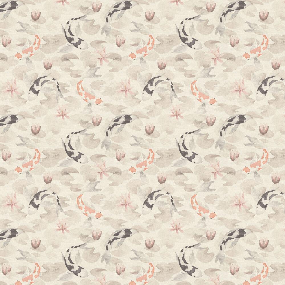 Koy Wallpaper - Beige - by Albany