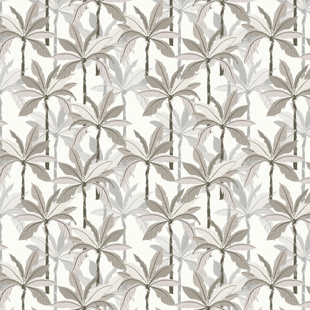 Palm Wallpaper - Neutral - by Albany