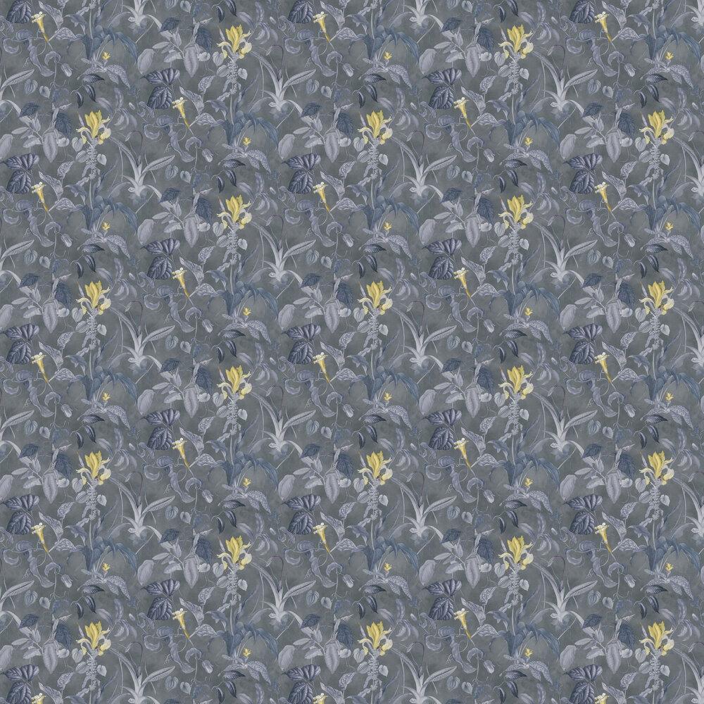 Garden Wallpaper - Slate - by Albany