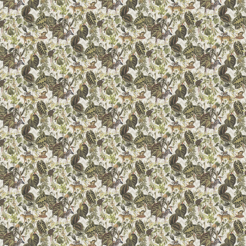 Jungle Wall Wallpaper - Neutral - by Albany