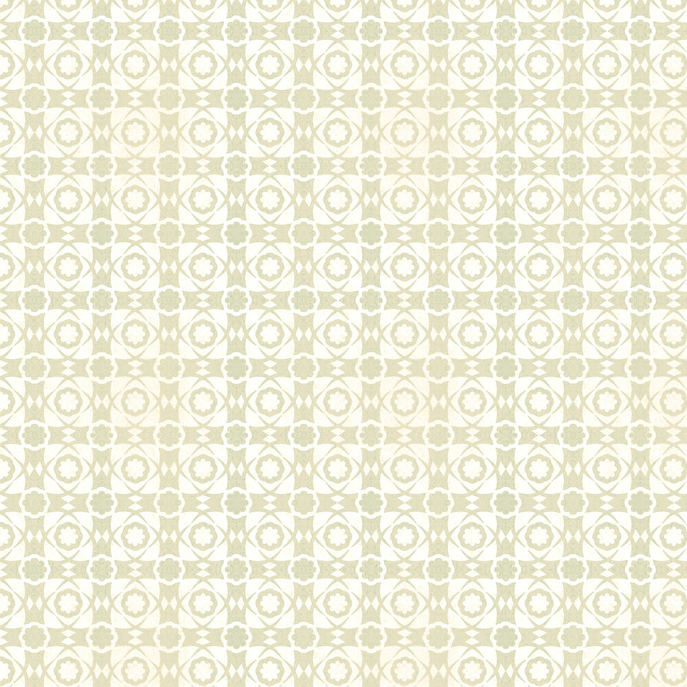 Aegean Tiles Wallpaper - Seacrest - by Mind the Gap