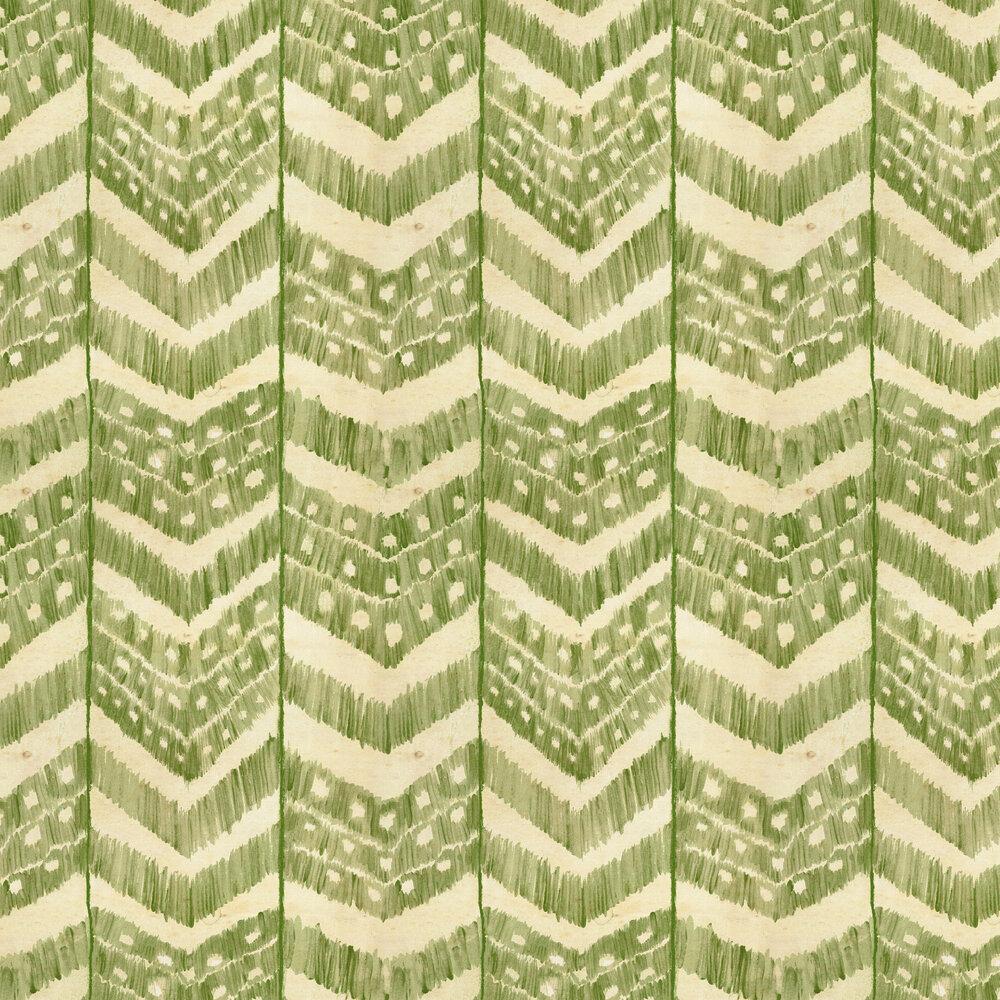 Turkish Ikat Wallpaper - Foliage - by Mind the Gap