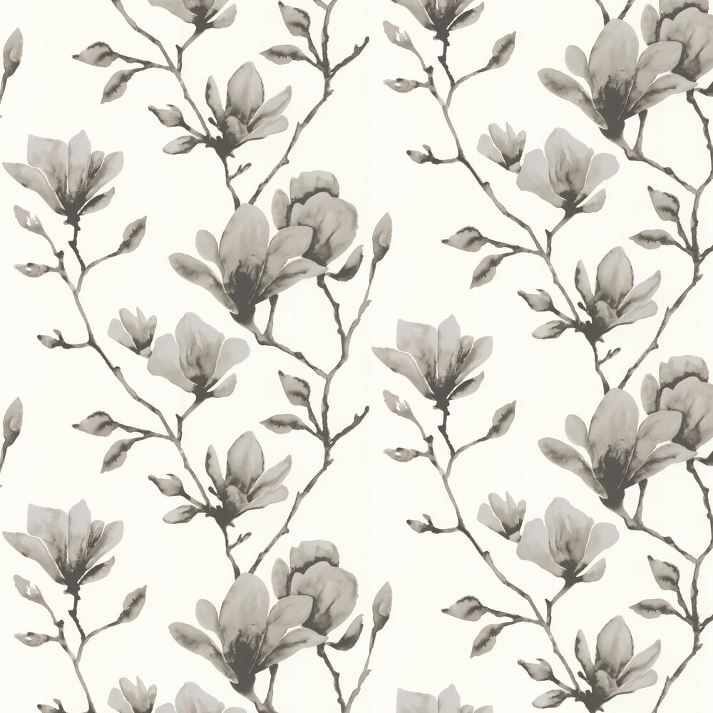 Lotus Wallpaper - Ivory/Gilver - by Harlequin