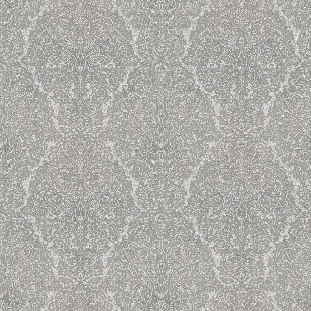 Aurelia Wallpaper - French Grey/Silver - by Harlequin