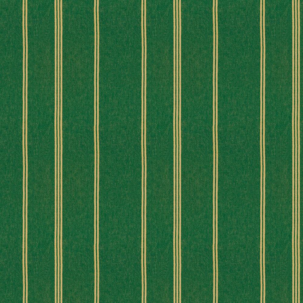 Katalin Stripe Wallpaper - Ultramarine Green - by Mind the Gap