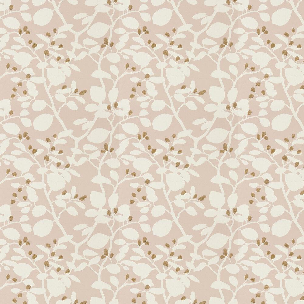Ardisia Wallpaper - Positano Sailcloth/Gold - by Harlequin